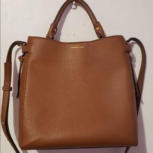 Love&Lore Tan Medi Crossbody Bag